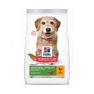 Croquettes Hill's Science Plan Canine Adult 7+ Mini Youthful Vitality Sac 1,5 kg