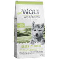 Little Wolf of Wilderness Junior  Green Fields , agneau pour chiot - 5 kg